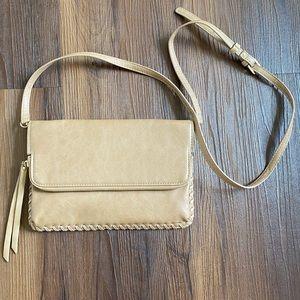 Moda Luxe brown tan crossbody bag purse tote